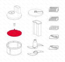 Zobraziť detail - Plastový tanier s osou SliceSy