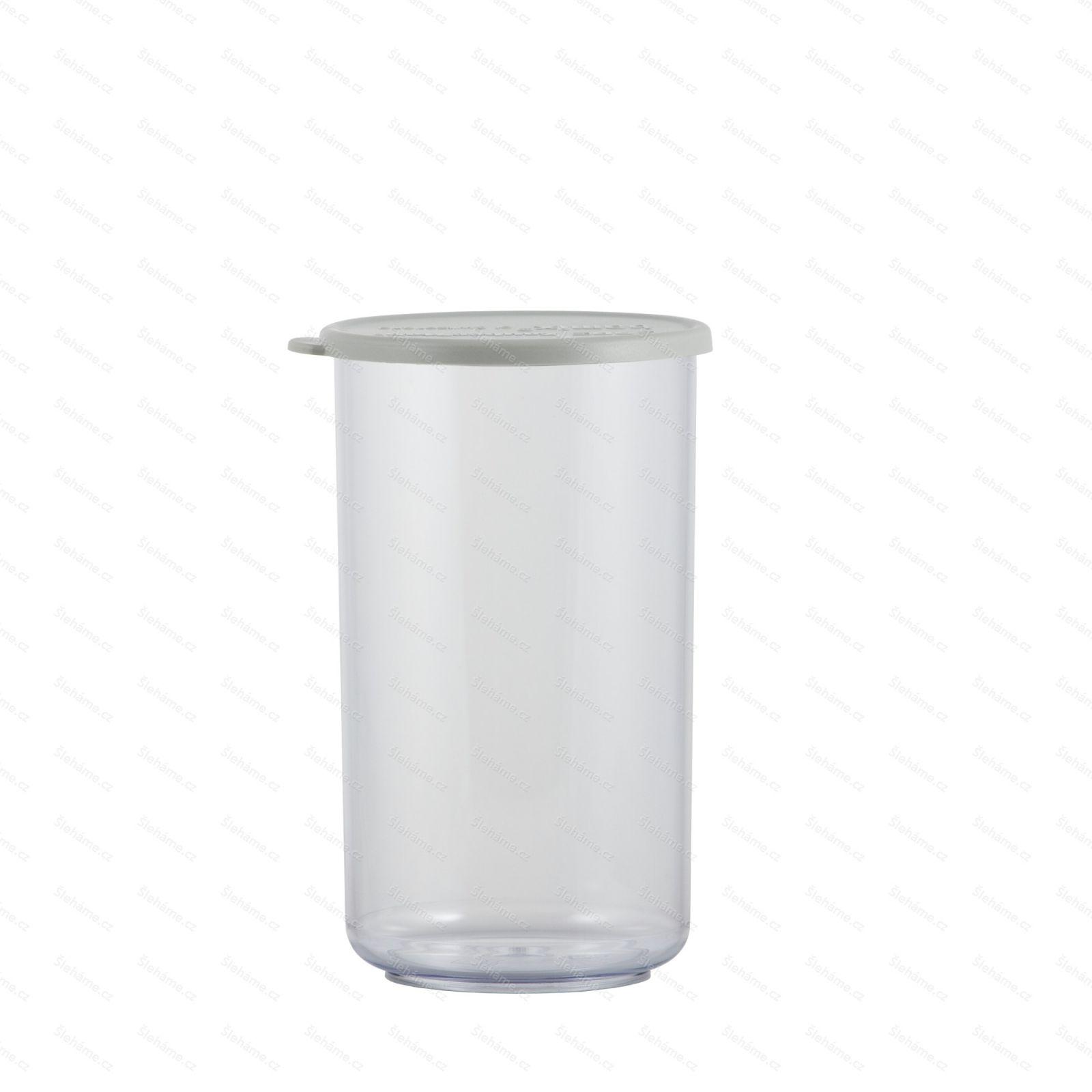 Pohár Bamix 400 ml, s šedým víčkem