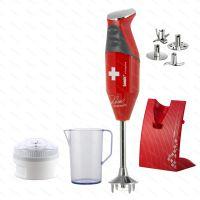 Zobraziť detail - bamix® SWISS LINE M200 - Pohlreich Selection, červený