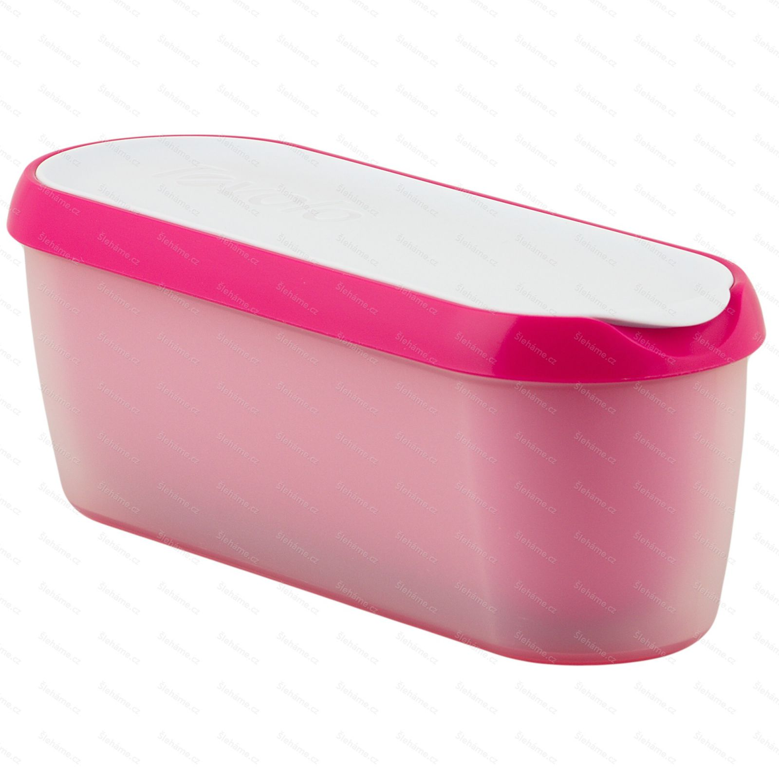Ice cream tub Tovolo GLIDE-A-SCOOP 1.4 l, raspberry tart