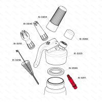 Dávkovací ventil iSi, hliníkový