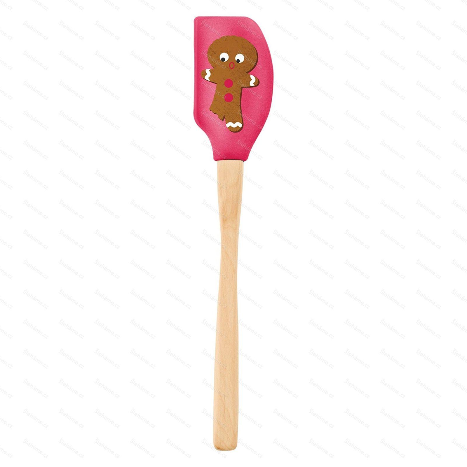 Stěrka Tovolo SPATULART Gingerbread Cookie