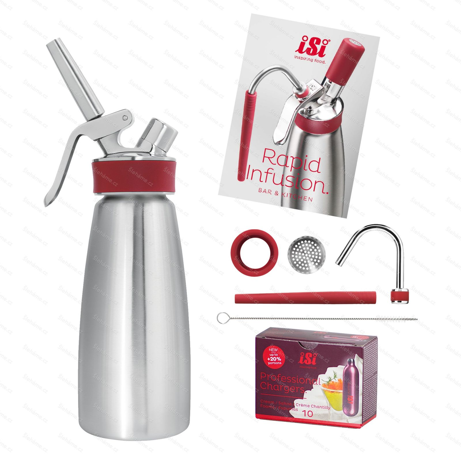 iSi RAPID INFUSION STARTER KIT
