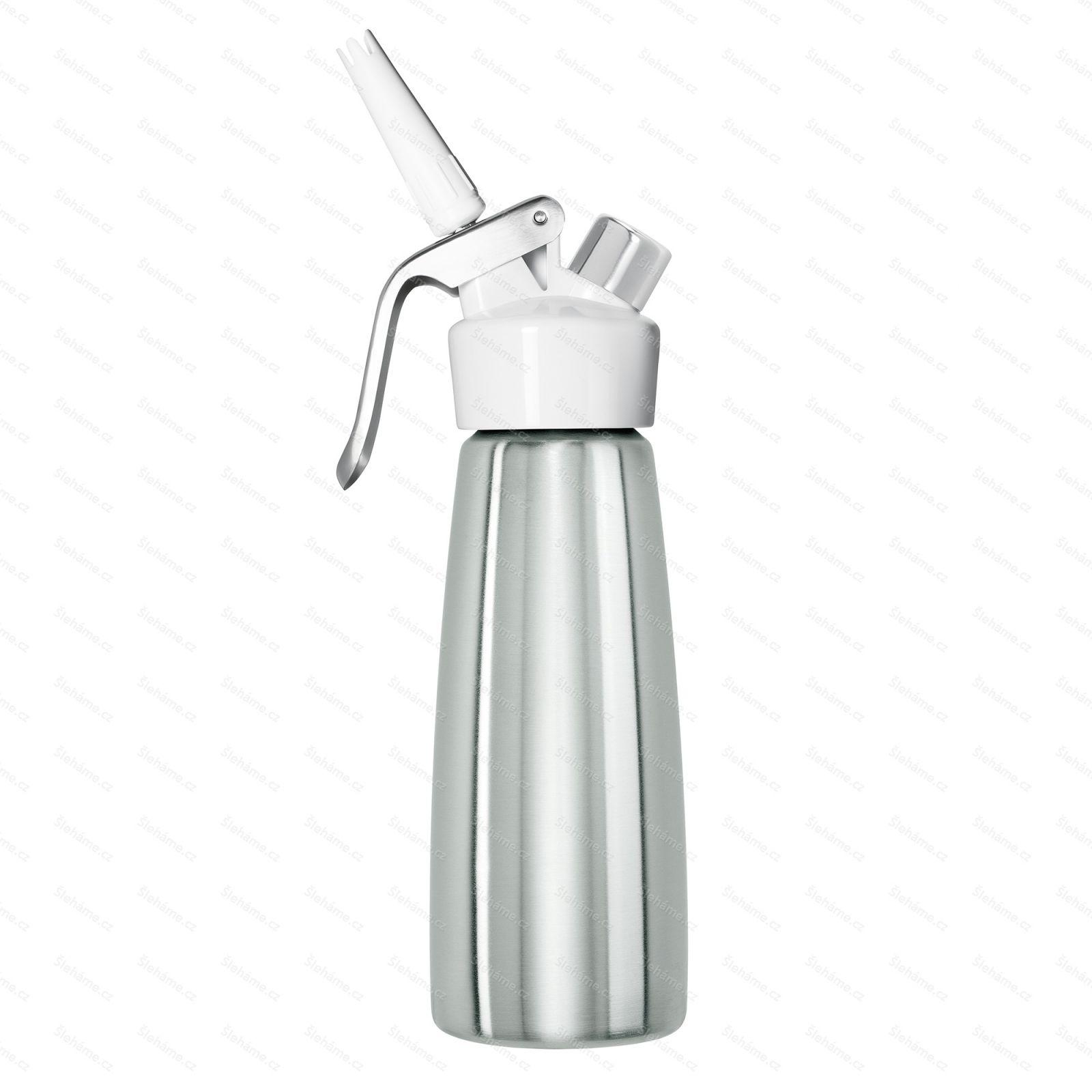 Šlehačková láhev iSi DESSERT WHIP NEW 0.5 l, bílá