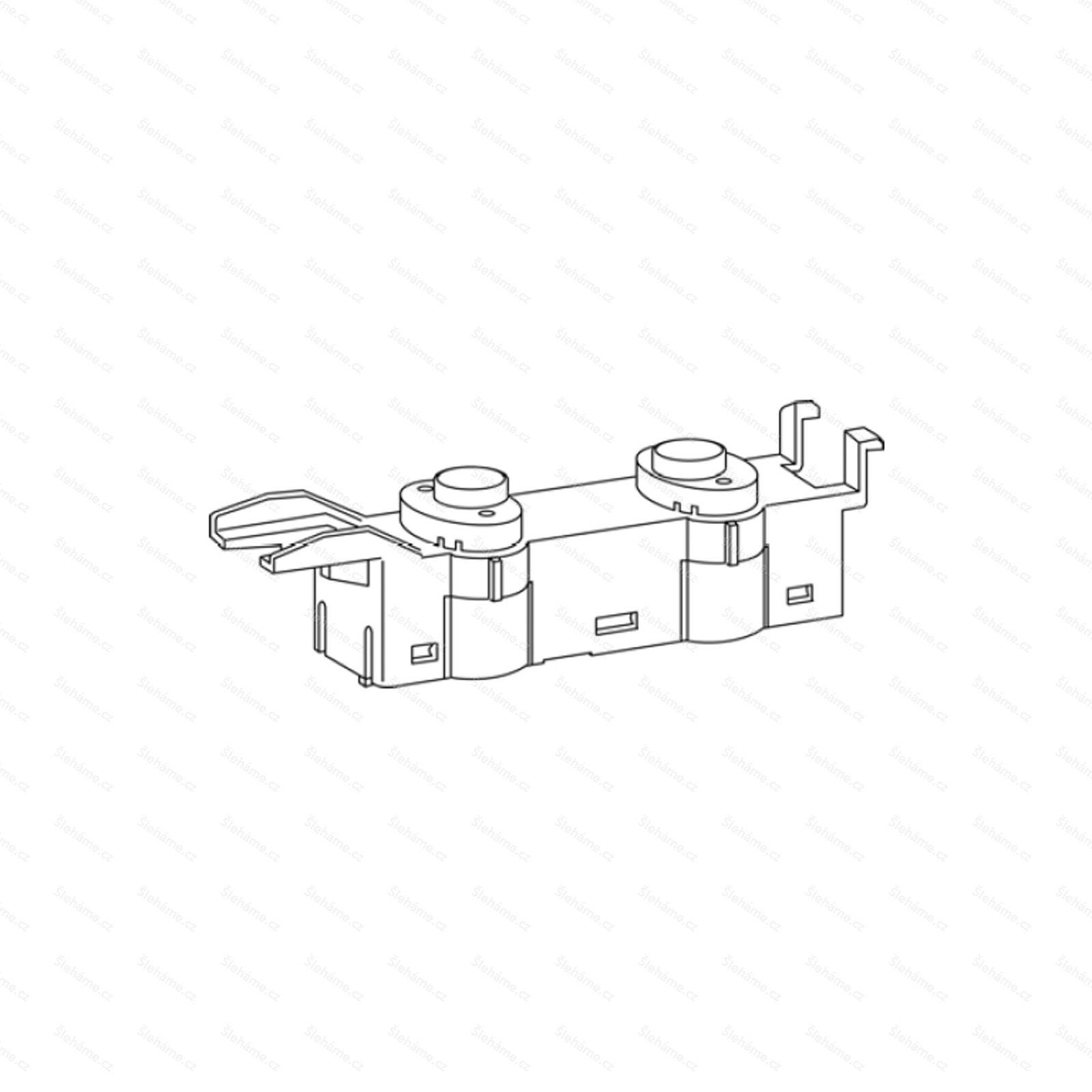Spínací tlačítka Bamix model D, bez elektroniky