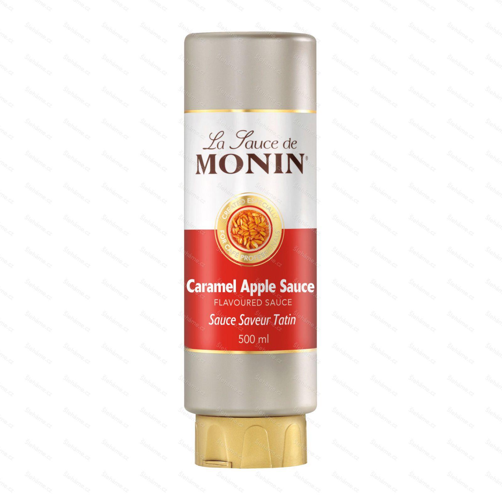 Toping Monin Caramel Apple Sauce, 500 ml