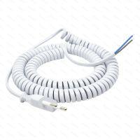 Kabel Bamix spirálový 350 cm, šedý