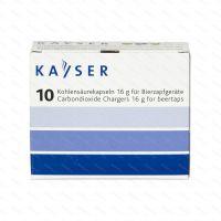 Pivní bombičky Kayser 16 g CO2, 10 ks