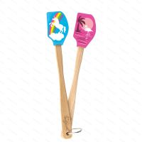 Ministierka Tovolo SPATULART Unicorn & Flamingo, 2 ks